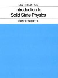 Introduction to Solid State Physics 8E
