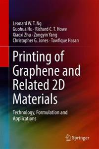 Printing of Graphene and Related 2d Materials