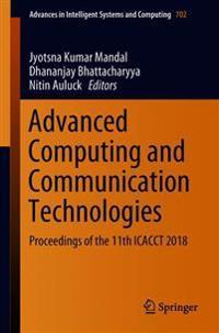 Advanced Computing and Communication Technologies