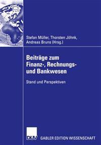 Beitrage zum finanz-, rechnungs- und bankwesen