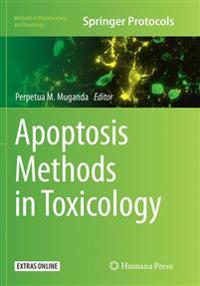 Apoptosis Methods in Toxicology