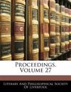 Proceedings, Volume 27
