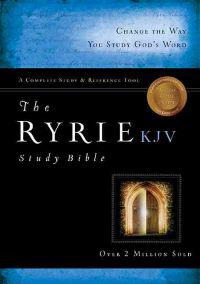 Ryrie Study Bible-KJV [With DVD]