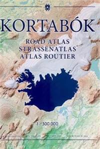 Iceland road atlas, with town plans, 2017-2018: 1:300,000