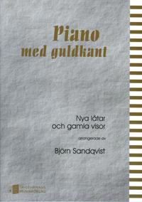 Piano med guldkant