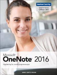 Microsoft OneNote 2016; opplæring for norsk programversjon