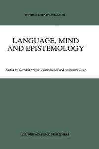 Language, Mind and Epistemology