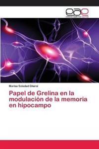 Papel de Grelina en la modulación de la memoria en hipocampo