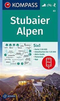 Stubaier Alpen 1 : 50 000