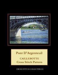 Pont d'Argenteuil: Caillebotte Cross Stitch Pattern