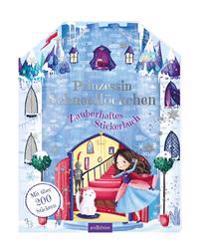 Prinzessin Schneeflöckchen - Zauberhaftes Stickerbuch