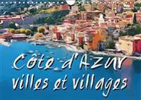 Cote d'Azur villes et villages 2019