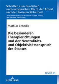 Die Besonderen Therapierichtungen Und Der Neutralitaets- Und Objektivitaetsanspruch Des Staates