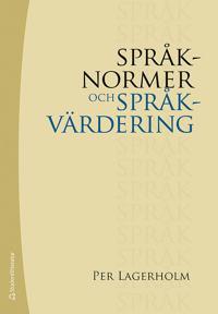 Språknormer och språkvärdering