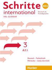 Schritte international Neu 3 / Glossar XXL Deutsch-Tschechisch - Nemecko-ceský slovnícek