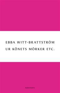 Ur könets mörker Etc. : Litteraturanalyser 1983-2003