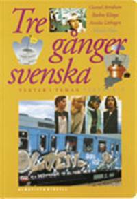 Tre gånger svenska Textbok 2