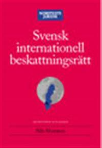 Svensk internationell beskattningsrätt