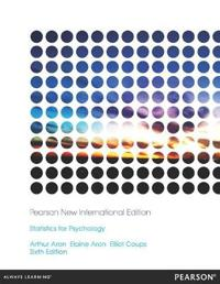 Statistics for Psychology: Pearson New International Edition
