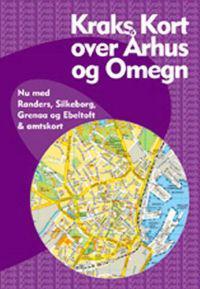 Kraks Kort Over Arhus Og Omegn Boker Ovrig 9788772257082