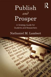 Publish and Prosper