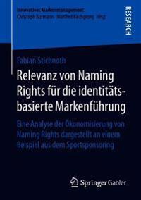 Relevanz Von Naming Rights Für Die Identitätsbasierte Markenführung