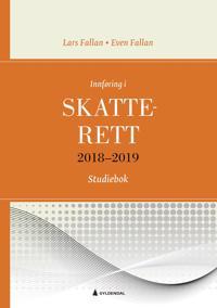 Innføring i skatterett 2018-2019; studiebok