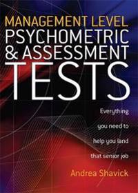 Management Level Psychometric & Assessment Tests