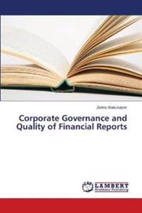 Corporate Governance and Quality of Financial Reports