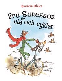 Fru Sunesson är ute och cyklar