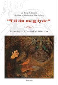 Vil du meg lyde - Bengt R. Jonsson pdf epub