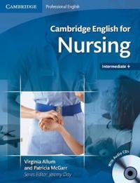 Cambridge English for Nursing Intermediate Plus Student's Book with Audio CDs (2)
