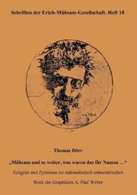 Thomas D RR M Hsam Und So Weiter, Was Waren Das Fur Namen ...