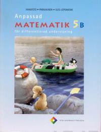 Anpassad matematik 5 B