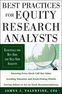 Best Practices for Equity Research Analysts