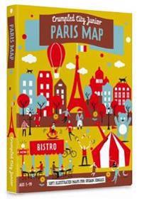 Junior Paris Crumpled City Map