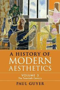 A History of Modern Aesthetics