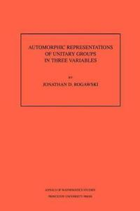 Automorphic Representation of Unitary Groups in Three Variables