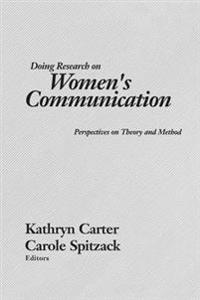 Doing Research on Women's Communications