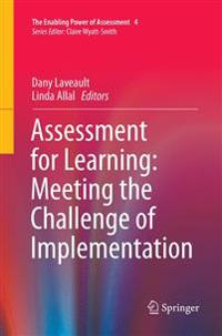 ASSESSMENT FOR LEARNING: MEETING THE CHA