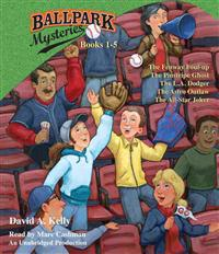 Ballpark Mysteries, Books 1-5: The Fenway Foul-Up, the Pinstripe Ghost, the L.A. Dodger, the Astro Outlaw, the All-Star Joker