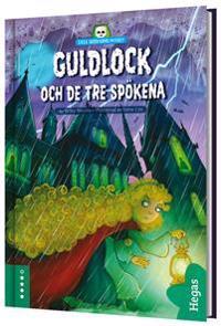 Guldlock och de tre spökena (BOK+CD)