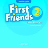 First Friends (American English): 2: Class Audio CD