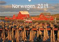 Norwegen 2019 (Wandkalender 2019 DIN A3 quer)