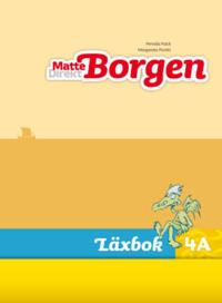 Matte Direkt Borgen Läxbok 4A Ny upplaga