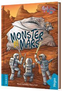 Monster på mars (Bok+CD)