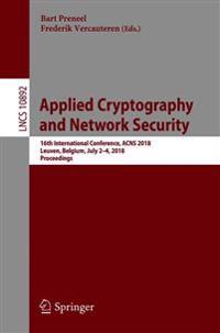 Applied Cryptography and Network Security