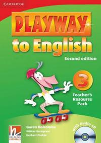 Playway to English Level 3 Teacher's Resource Pack with Audio CD