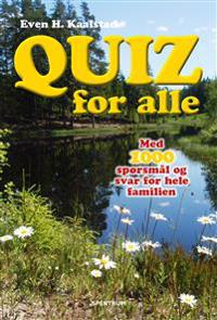 Quiz for alle - Even H. Kaalstad   Inprintwriters.org