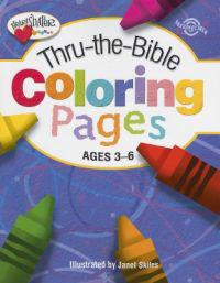 Thru-The-Bible Coloring Pages: Ages 3-K